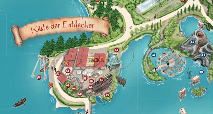 Belantis Karte Lageplan Parkplan
