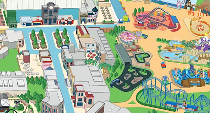 Movie Park Karte Parkplan Lageplan