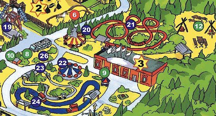 Zoo Safaripark Stukenbrock Karte Parkplan Lageplan