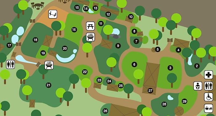 Arche Noah Zoo Braunschweig Parkplan Lageplan