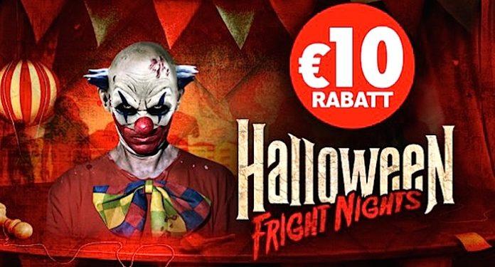 Holiday Park Halloween Fright Nights 10 Euro Gutschein