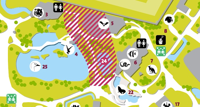 Zoo Frankfurt Parkplan Lageplan