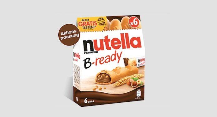 Nutella B-ready kostenlos