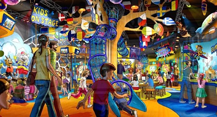 Europa_-Park Indoor-Spielwelt Junior Club Studio
