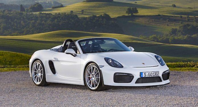 Ferrero Auto Gewinnspiel Porsche 718 Boxter