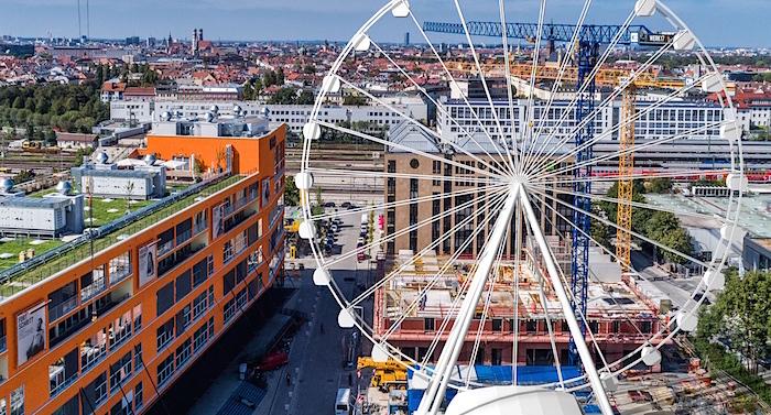 München Riesenrad Wheel of Munich
