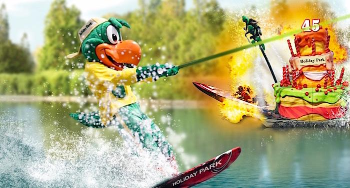 Holiday Park Wasserski-Show