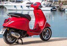 Vespa Primavera Motorroller_