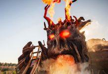 Heide Park Colossos Kampf der Giganten