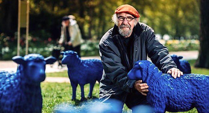 Europa-Park Rainer Bonk Blaue Schafe