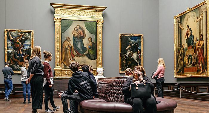 Gemäldegalerie Alte Meister Gutschein 2 für 1 Ticket