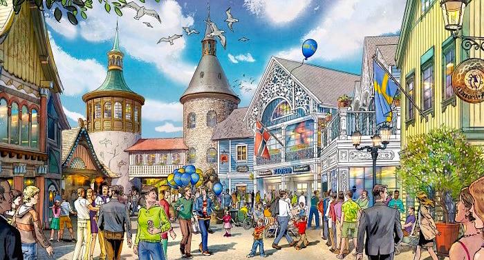 Europa-Park Skandinavisches Dorf