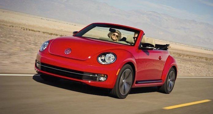 Rossmann Auto Gewinnspiel VW Beetle Cabrio
