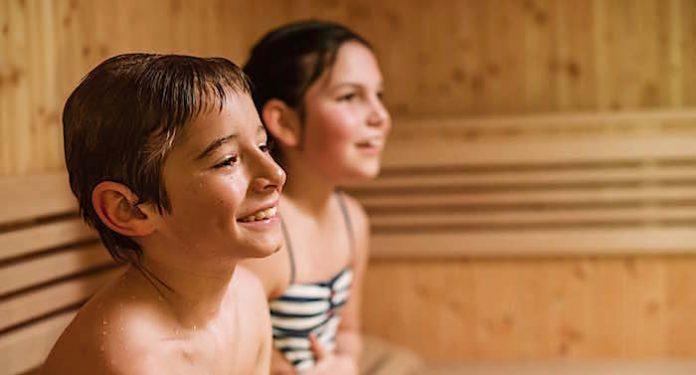 Wellness Ratgeber Kinder in der Sauna