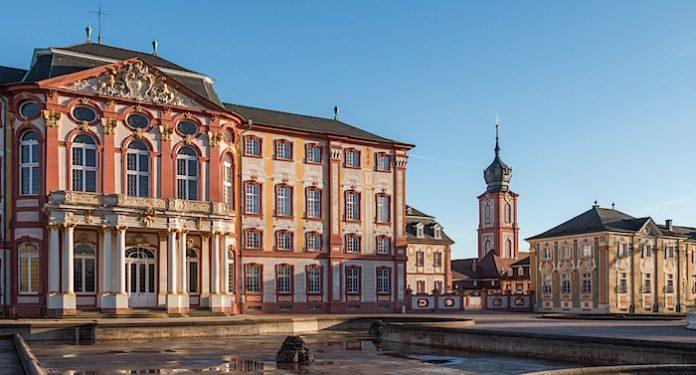 Baden-Württemberg Valentinstag Schloss Bruchsal