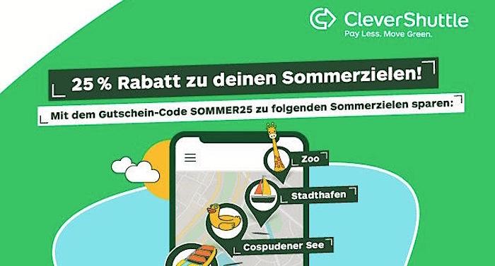 Clevershuttle Gutschein Gutscheincode Zoo Leipzig Belantis