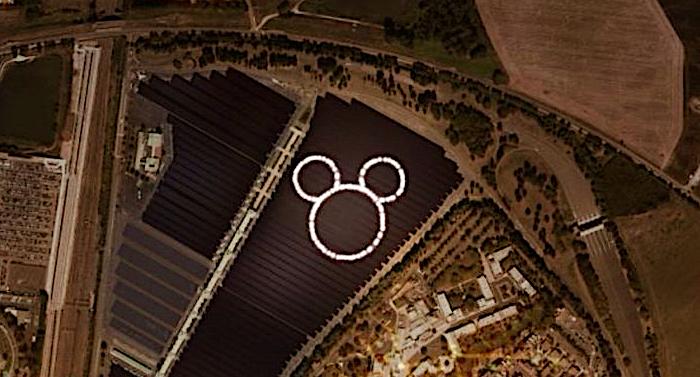 Disneyland Paris baut Solarstromanlage der Superlative