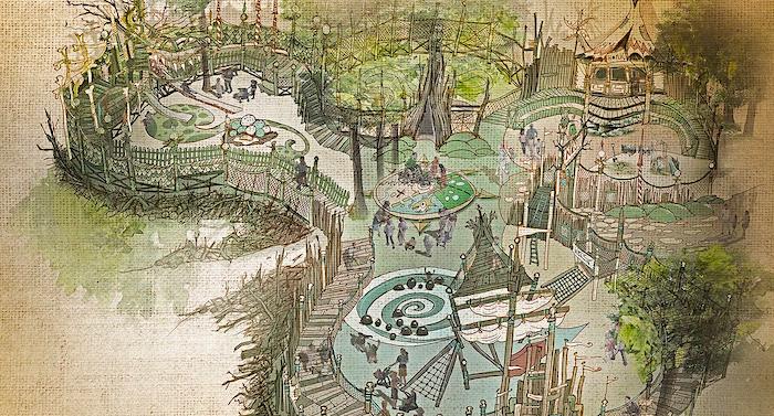 Efteling: Inklusions-Spielwald für Saison 2021 angekündigt