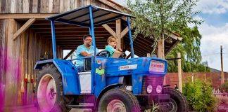 Karls Erlebnis-Dorf Rövershagen: Spritztouren zu Erdbeerfeldern