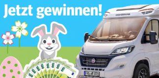 WAZ Gewinnspiel: Wohnmobil Urlaub und Urlaubsgeld gewinnen