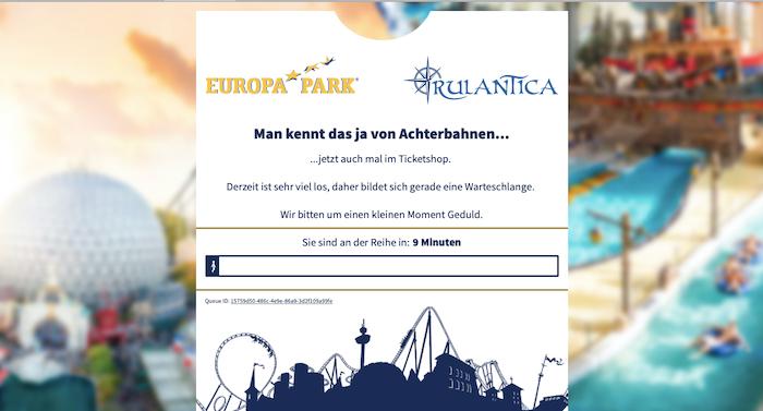 Europa-Park: Corona-Öffnung 2021 Tickets mit enormer Nachfrage