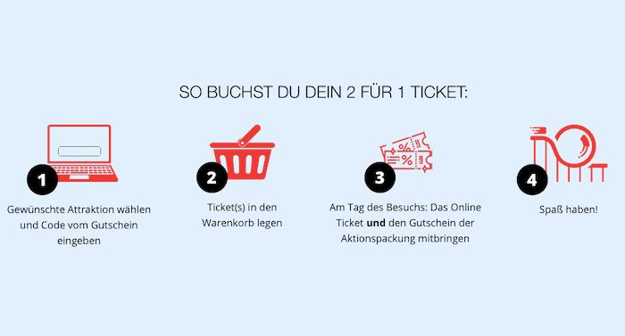Popp Freizeitspaß 2021: Heide Park 2 für 1 Gutschein erhältlich
