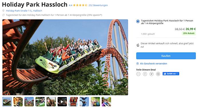 Holiday Park Gutschein Groupon Saison 2021