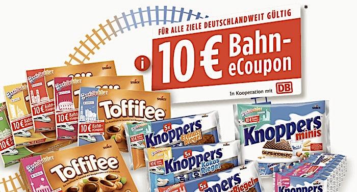 Deutsche Bahn Gutschein e-Coupons im Wert von 20 Euro