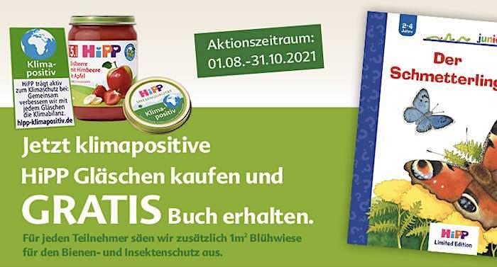 HIPP Geschenk für Kinder: Ravensburger Buch kostenlos bekommen