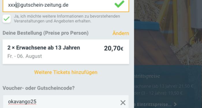 Jaderpark Gutschein Gutscheincode Saison 2021 mit 25 Prozent Rabatt
