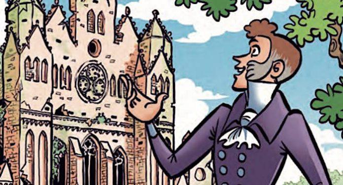 Deutsches Nationalkomitee für Denkmalschutz verschenkt MOSAIK Comic