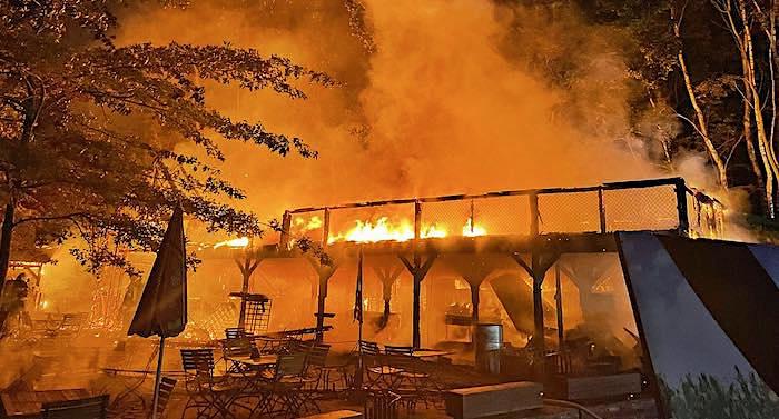 Karls Erlebnis-Dorf Zirkow: Brand verursacht 200.000 Euro Schaden