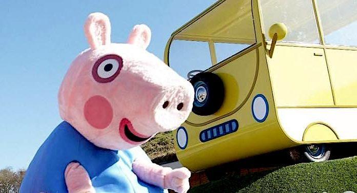 Peppa Pig World of Play: Indoor-Spielplatz zum Thema Peppa Wutz