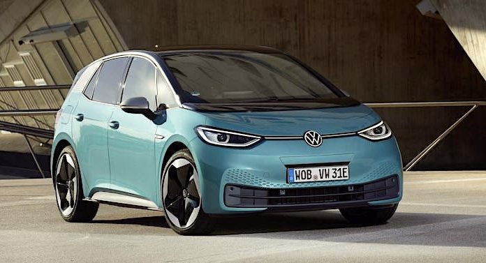 Bader Gewinnspiel: Volkswagen VW ID.3 Elektroauto kostenlos gewinnen