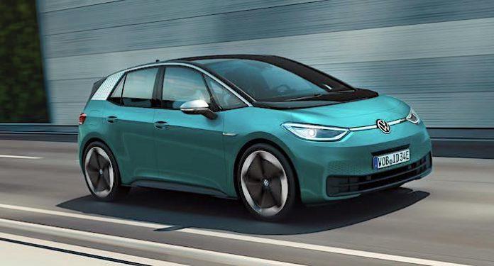 PENNY und Ferrero Gewinnspiel: 2 x 1 VW Modell ID 3 gewinnen